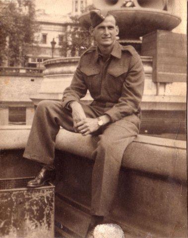 Ivan Clement Gittens circa 1944