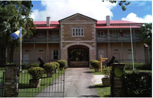 The Military Prison, Home of The Barbados Museum